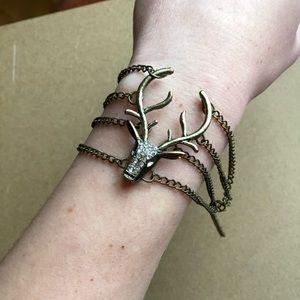 Jewelry - Deer Head Bracelet